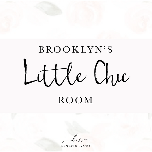 Brooklyn's Room: Blush Pink & Tulle.