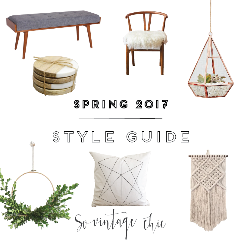 Modern Farmhouse Spring Style Guide