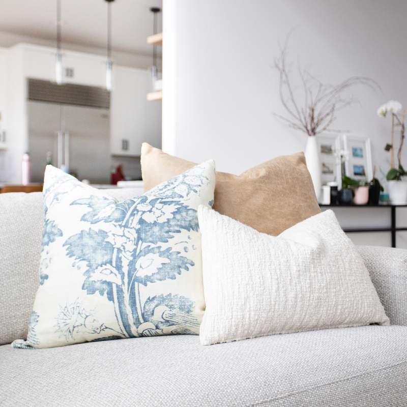 How to: Creating the Perfect Pillow Pairings