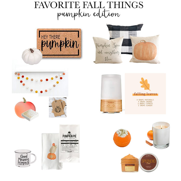 All things pumpkin (Minus the Carving!)
