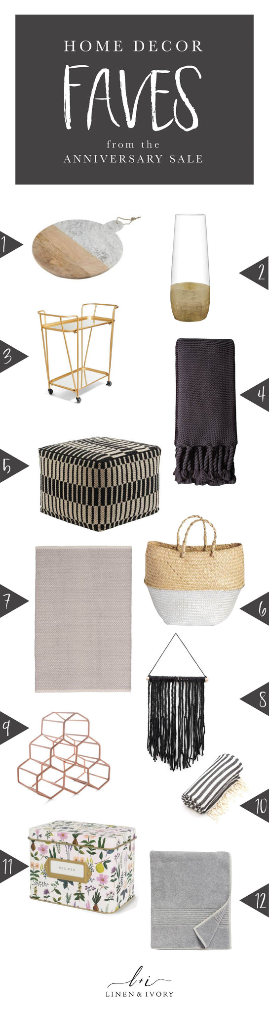 Home decor faves from the nordstrom anniversary sale Nordstrom home decor sale