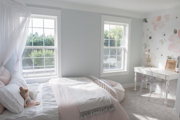 soft pink girl bedroom