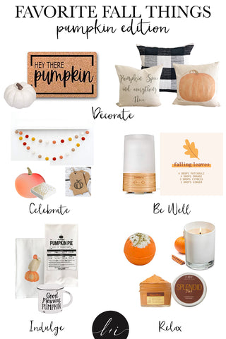 favorite fall things