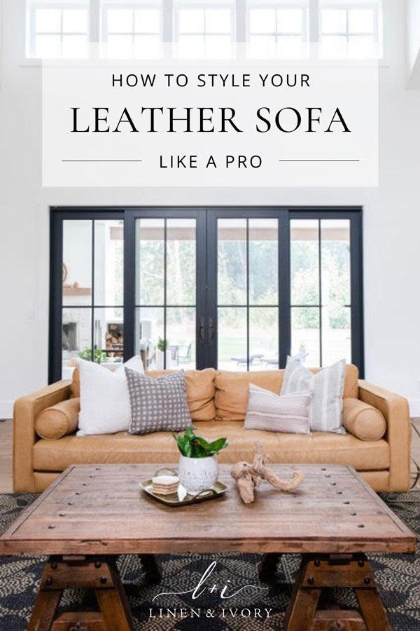 how-to-style-a-leather-sofa-like-a-pro