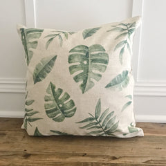 Palm Branches Pillow Cover