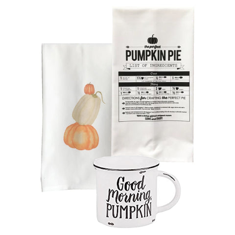 fall mug, fall tea towels