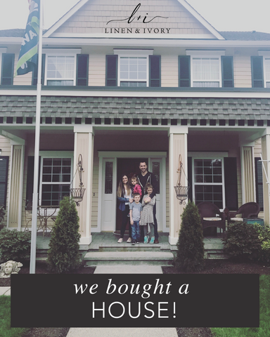 We bought a house - Linen & Ivory Blog