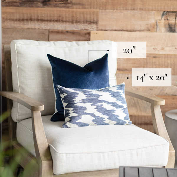chair pillow size graphic