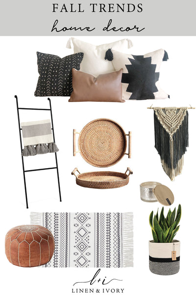 Fall Trends Home Decor