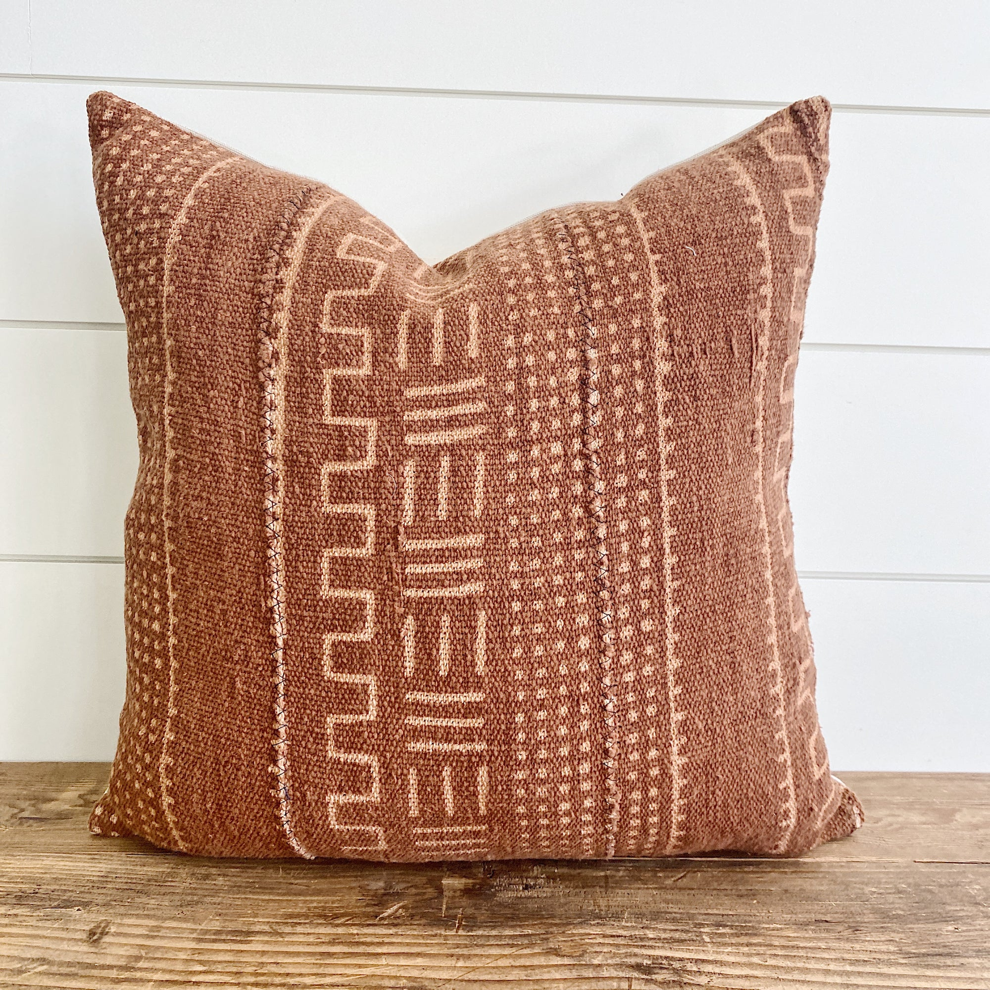 BLAIZE || Rust Geometric Mud Cloth (FALL LAUNCH 2020)