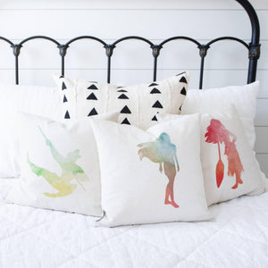 Princess Pocahontas Inspired Pillow Cover