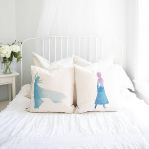 Princess Anna Inspired Pillow Cover