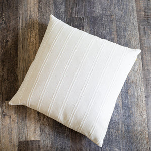 GRACE || Striped Pillow Cover