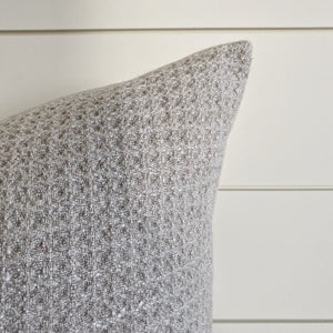 NADIA || Neutral Waffle Textured PIllow Cover (WINTER LAUNCH 2020)