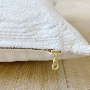 ALICE || Ivory Pillow Cover