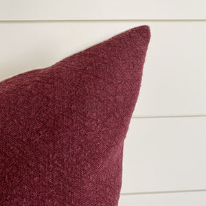 Ruby || Cranberry Red PIllow Cover (WINTER LAUNCH 2020)