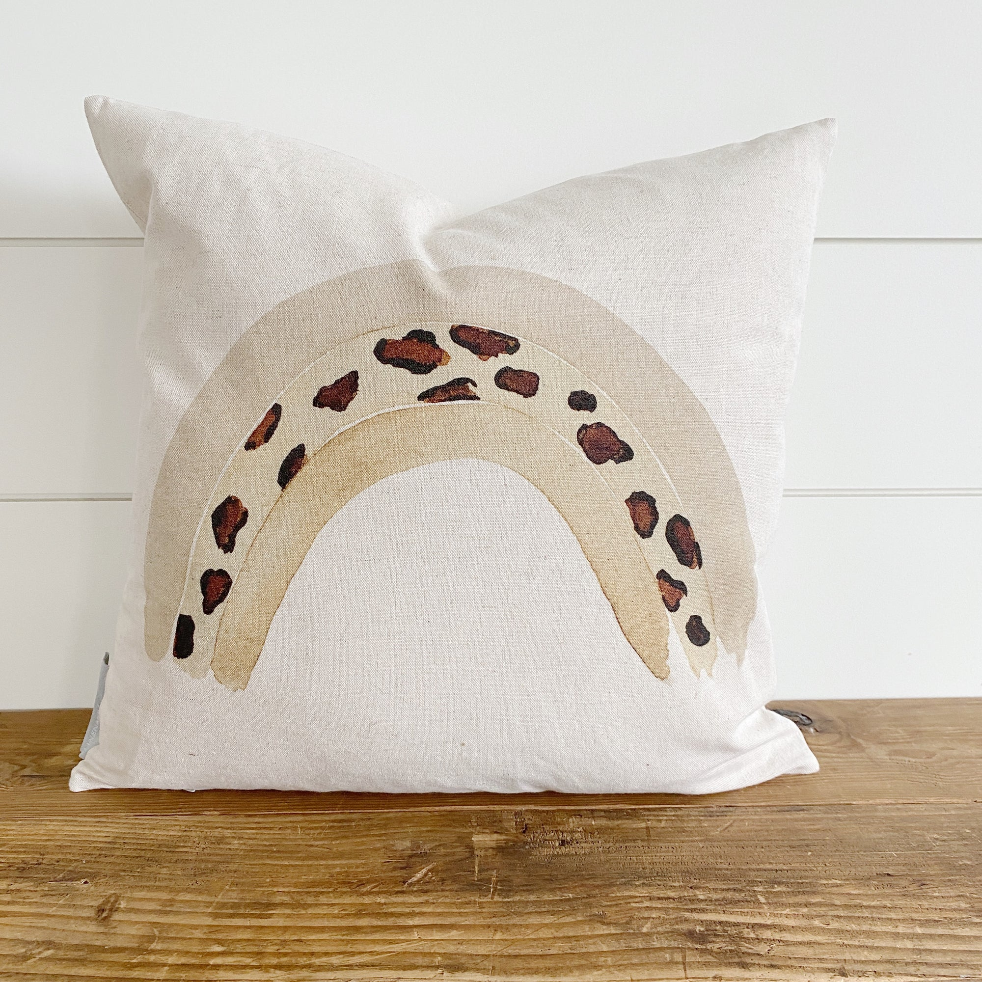 Watercolor Leopard Pillow Cover