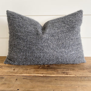 HUDSON || Dark Gray Bouclé Pillow Cover (WINTER LAUNCH 2020)
