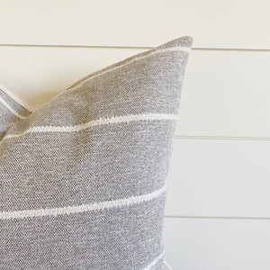 """Hope"" Striped Pillow Color"