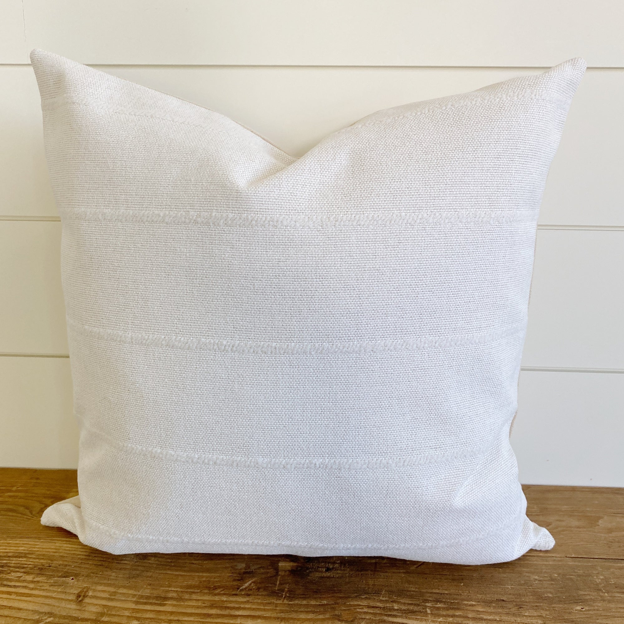 """Alice"" Ivory Pillow Cover"
