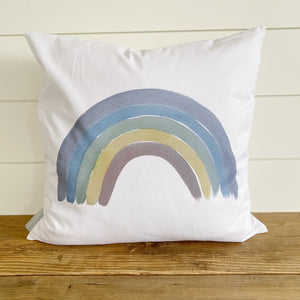 Watercolor Rainbow Pillow Cover