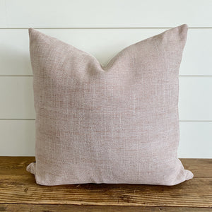 ALEXIS || Blush Pink Pillow Cover