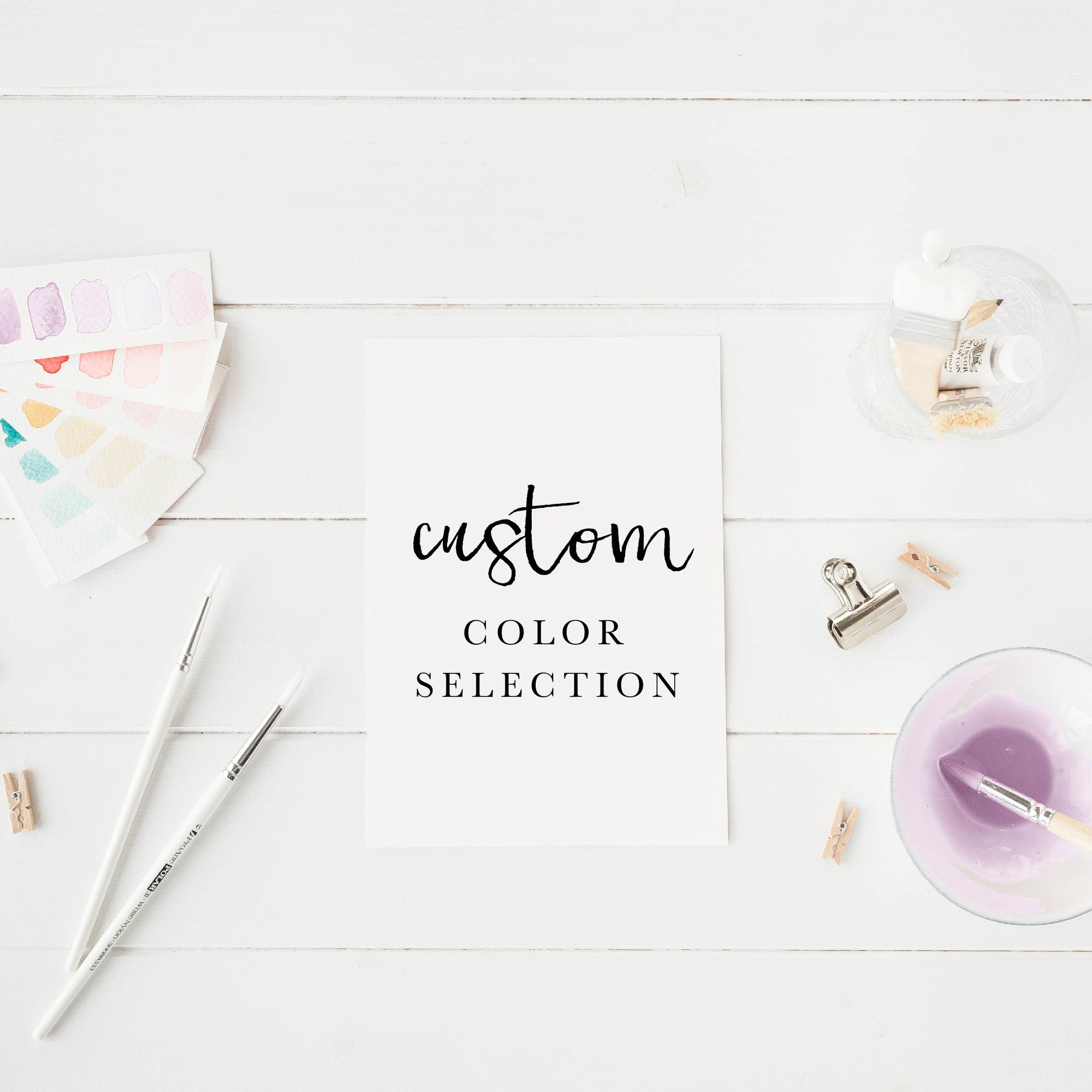 Custom Ink Color - Linen and Ivory