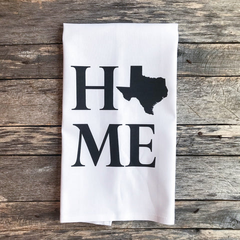 Personalized Tea Towels Linen And Ivory