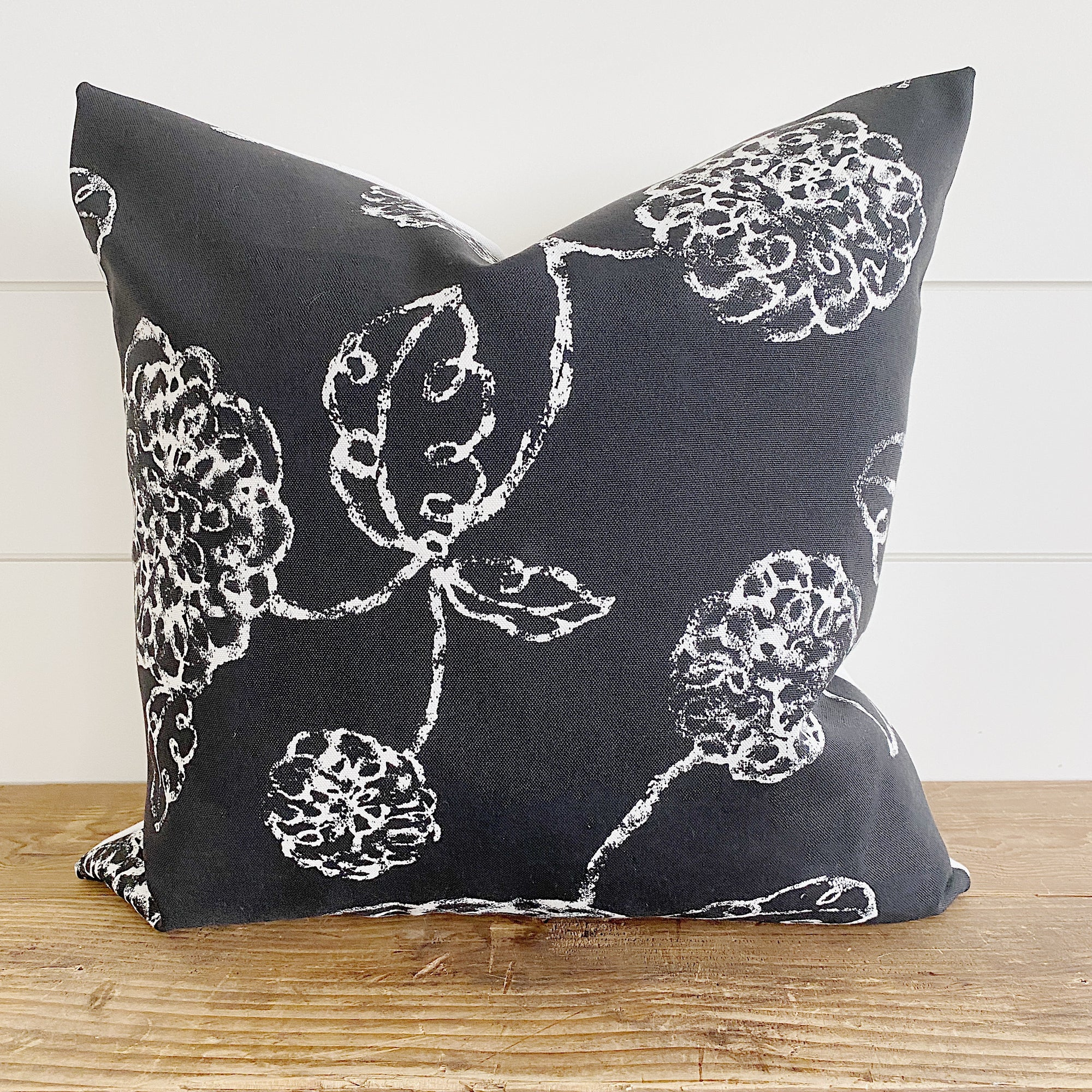 KYLIE || Black & White Indoor/Outdoor Pillow Cover
