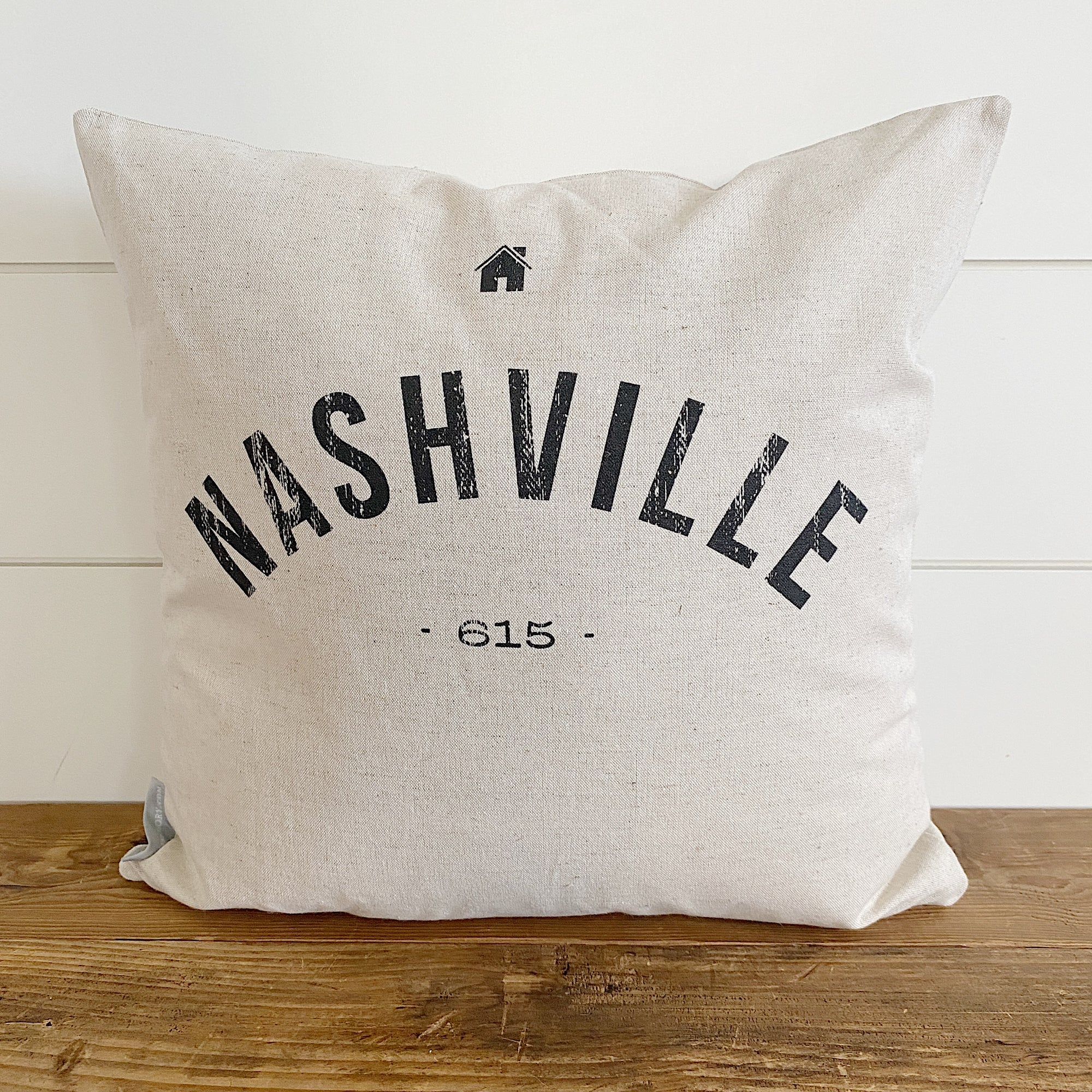 Custom City & Area Code Pillow Cover