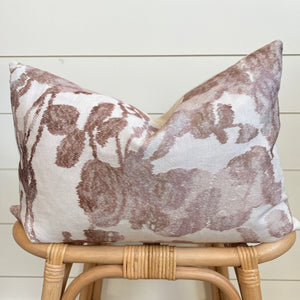 TARA || Warm Floral Pillow Cover