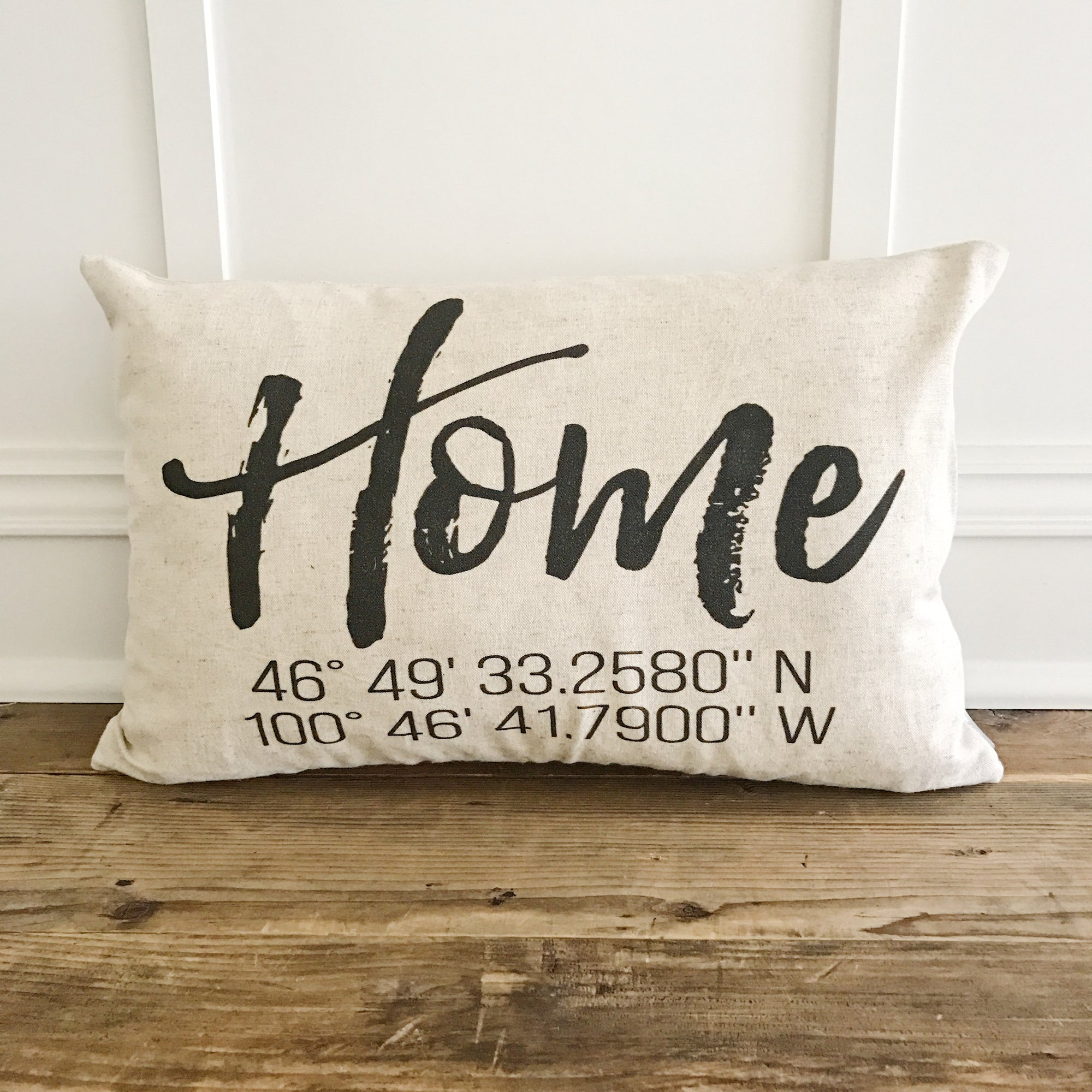 Home Coordinates  Pillow Cover - Linen and Ivory