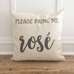 Bring me Rosé Pillow Cover - Linen and Ivory