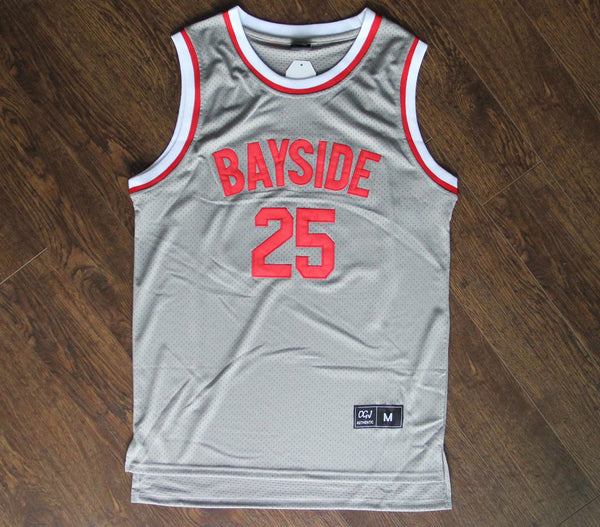 25 ZACK MORRIS' SAVED BY THE BELL BAYSIDE JERSEY