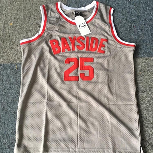 #25 ZACK MORRIS' SAVED BY THE BELL BAYSIDE JERSEY