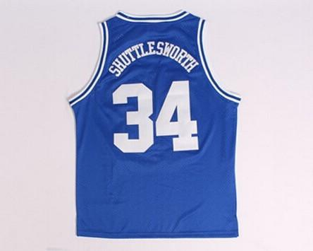 dac13cfa3 Jesus Shuttlesworth 34 Lincoln High School Basketball Jersey He Got Game