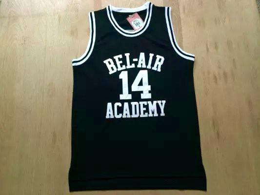 14 The Fresh Prince of Bel-Air Will Smith Bel-Air Academy Basketball Jersey  (3 colors)