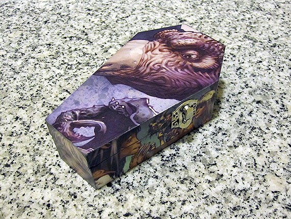 Dark Crystal Comic Coffin Box