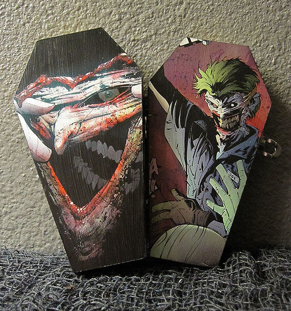 Death in the Family Joker Comic Coffin