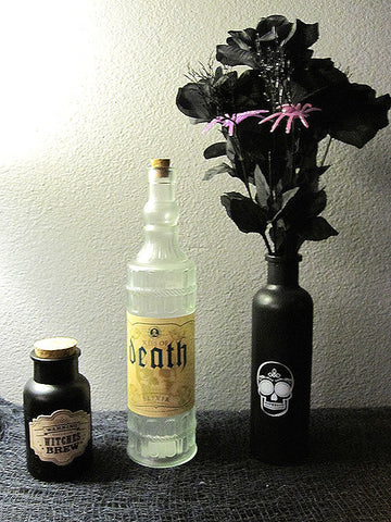 Kiss of Death Elixer Bottle