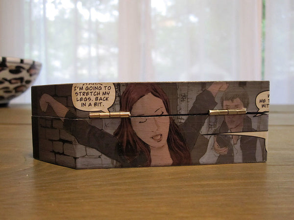 Doctor Who Comic Coffin