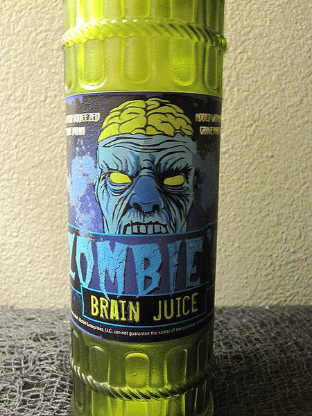 Zombie Brain Juice Bottle