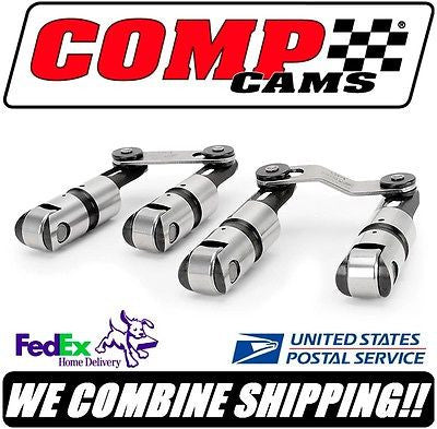 COMP Cams Sportsman SBC Chevy Solid Roller Lifters w/Bushing Axles #96818B-16
