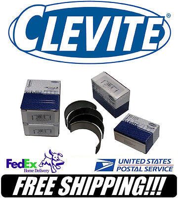 "8 Clevite BBF Big Block Ford V8 2.200"" Rod H-Bearings #CB743HN"