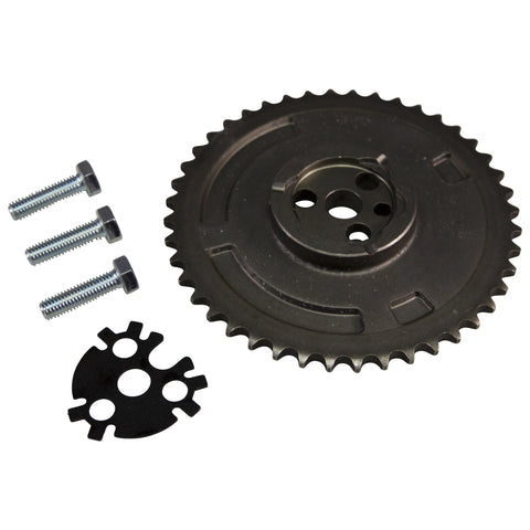 COMP Cams GM LS Single-Bolt to 3-Bolt Cam Gear Upgrade Kit w/Lock Plate #2102CG