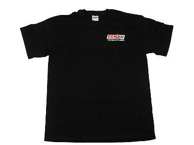Brand New Black COMP Cams Small S Logo'd Short Sleeve T-Shirt #C1020-S