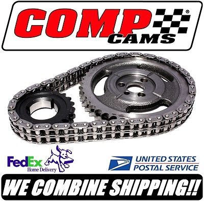 Comp Cams Hi-Tech 1955-91 265-400ci SBC Chevy V8 Roller Race Timing Set #3100