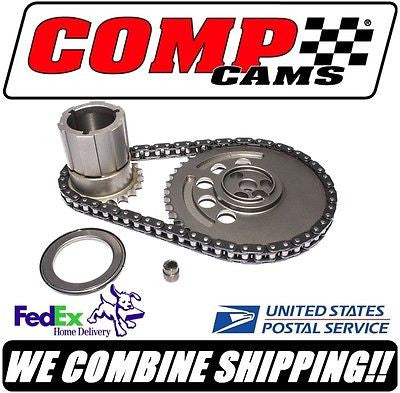 Comp Cams GM LS7 3-Bolt Adjustable Single Row Roller Timing Set #3167KT