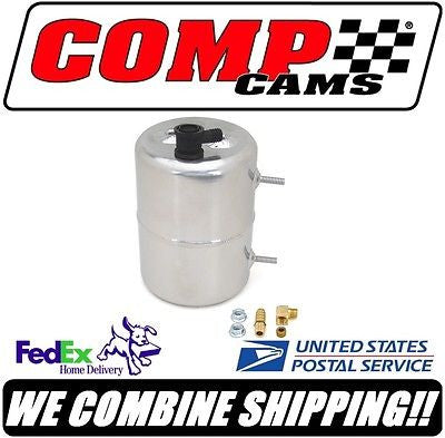 New COMP Cams Zinc Plated & Polished Vacuum Canister #5201