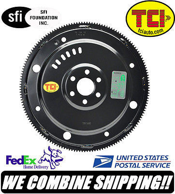 TCI Ford 4.6L 8-Bolt Crank w/GM Transmission Conv SFI Forged Flexplate #529640